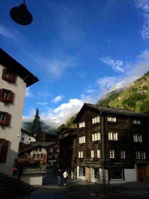 The Matterhorn shows herself