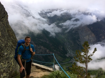 Ben enter the valley of waterfalls