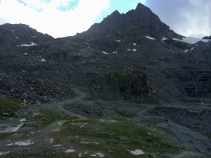 The Prafleuri basin below the cabane.