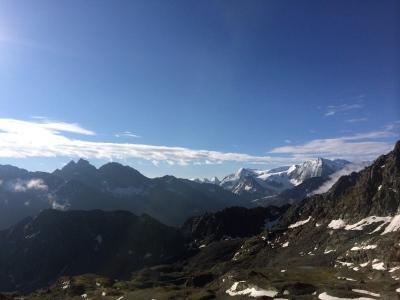 From Col Prafleuri - Mont Blava, La Cassorte, La Ruinette
