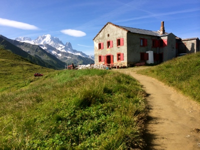 Col de Balme - French/Swiss boarder