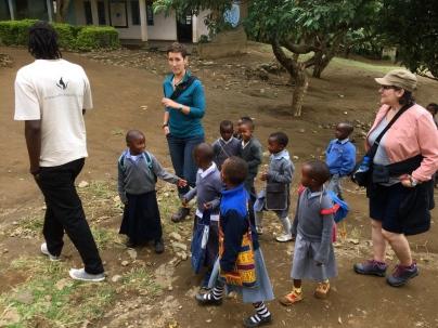A school tour
